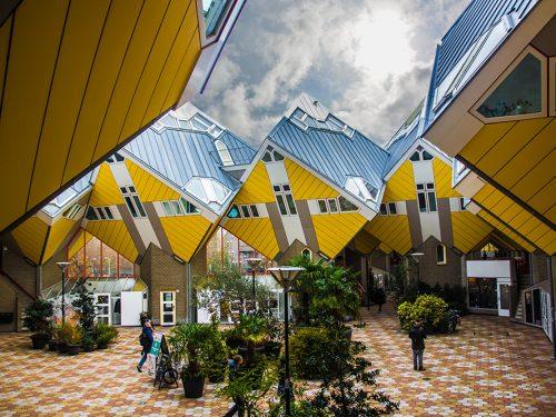 Rotterdam: esplorarla in un'invernale giornata nuvolosa!