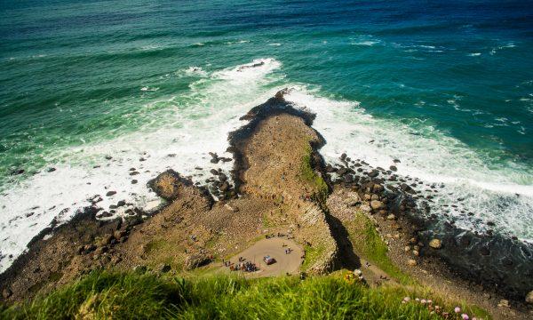 Irlanda del Nord: vista oceano e l'incubo di Belfast
